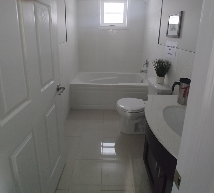 Bathroom renovation from handiman4you Durham Region - Pickering, Ajax, Whitby, Oshawa